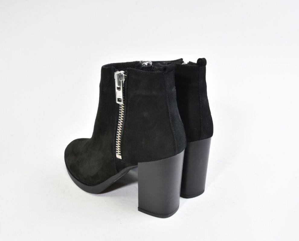Зимові замшеві черевики на каблуку - купити в Україні  e48bc14f2daa9