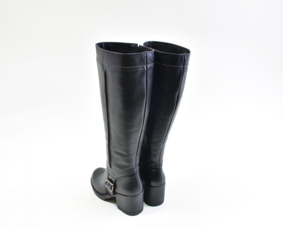 Зимові чоботи на широкому каблуку - купити в Україні  b411db274f8e9